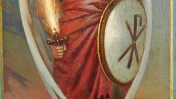 Свети архангел Михаил и небесното ангелско войнство.